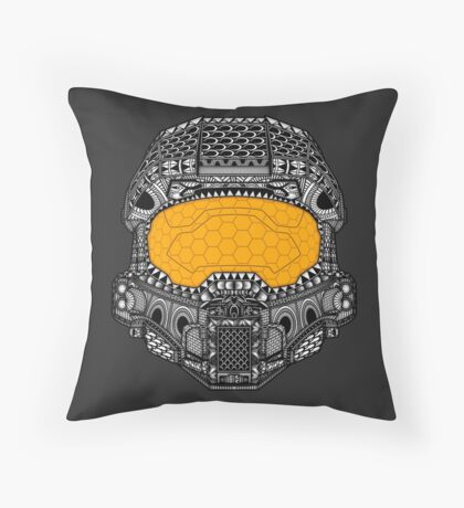 The Chief. Throw Pillow