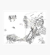 RolePlaying Map Photographic Print