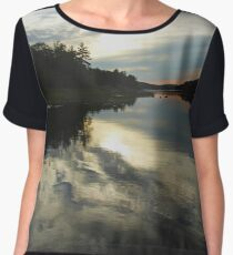 Sun Behind The Clouds Chiffon Top