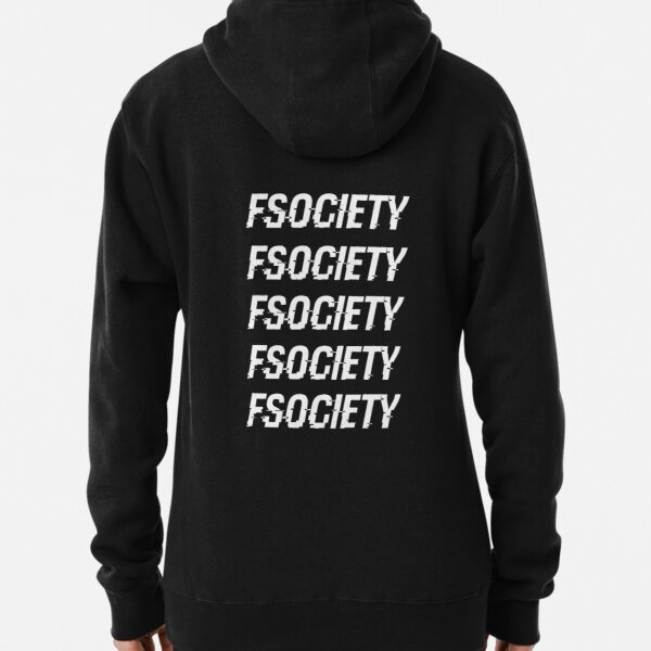 FSOCIETY - MR. ROBOT Sweat à capuche épais
