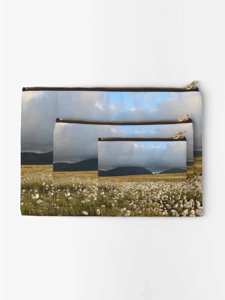 Alternate view of Hoy Hills from Graemsay Zipper Pouch