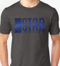 Blue Galaxy S.T.A.R. Labs Unisex T-Shirt