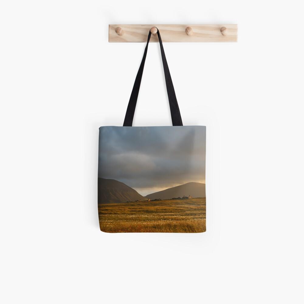 Evening light on Hoy and Graemsay Tote Bag