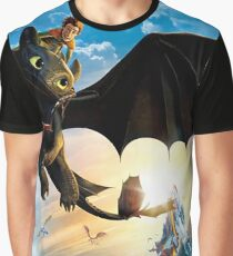 how to train your dragon Graphic T-Shirt