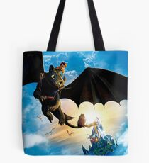 how to train your dragon Tote Bag