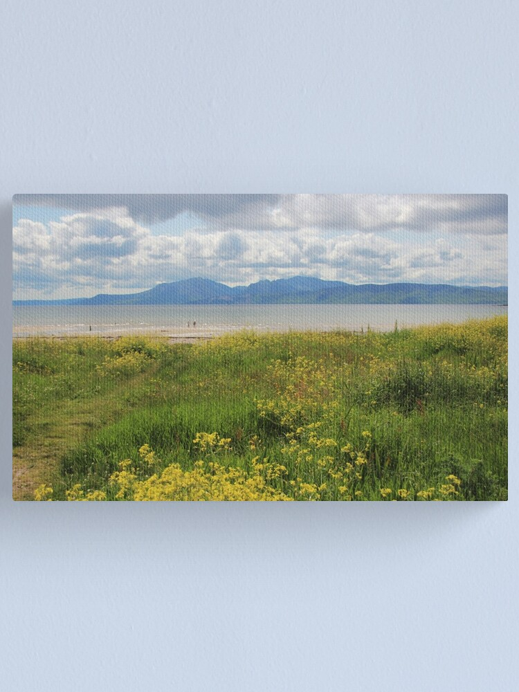 Alternate view of Arran from Scalpsie Bay, Bute Canvas Print