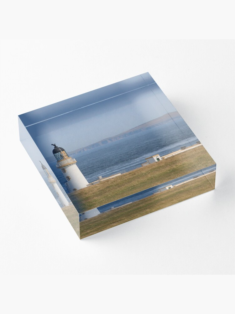 Alternate view of Pentland view Acrylic Block
