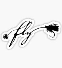 """Fly"" Sticker"