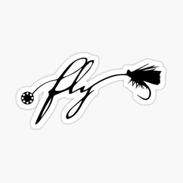 """Fly"" Sticker"