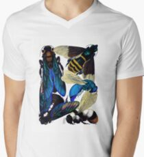 Vintage bees, hornets, wasps nature illustration T-Shirt