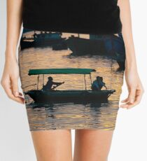 Cat Ba sunset Mini Skirt