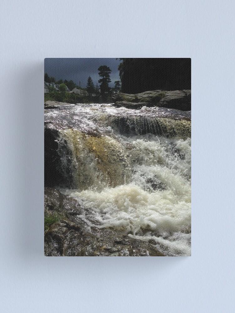 Alternate view of Falls of Dochart, Killin Canvas Print