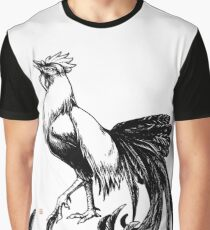 Longtail Rooster  Graphic T-Shirt