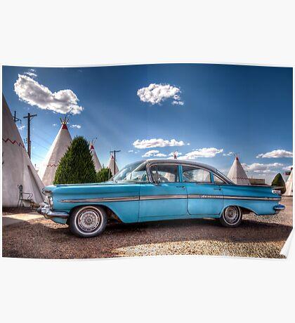 Blue Impala Poster