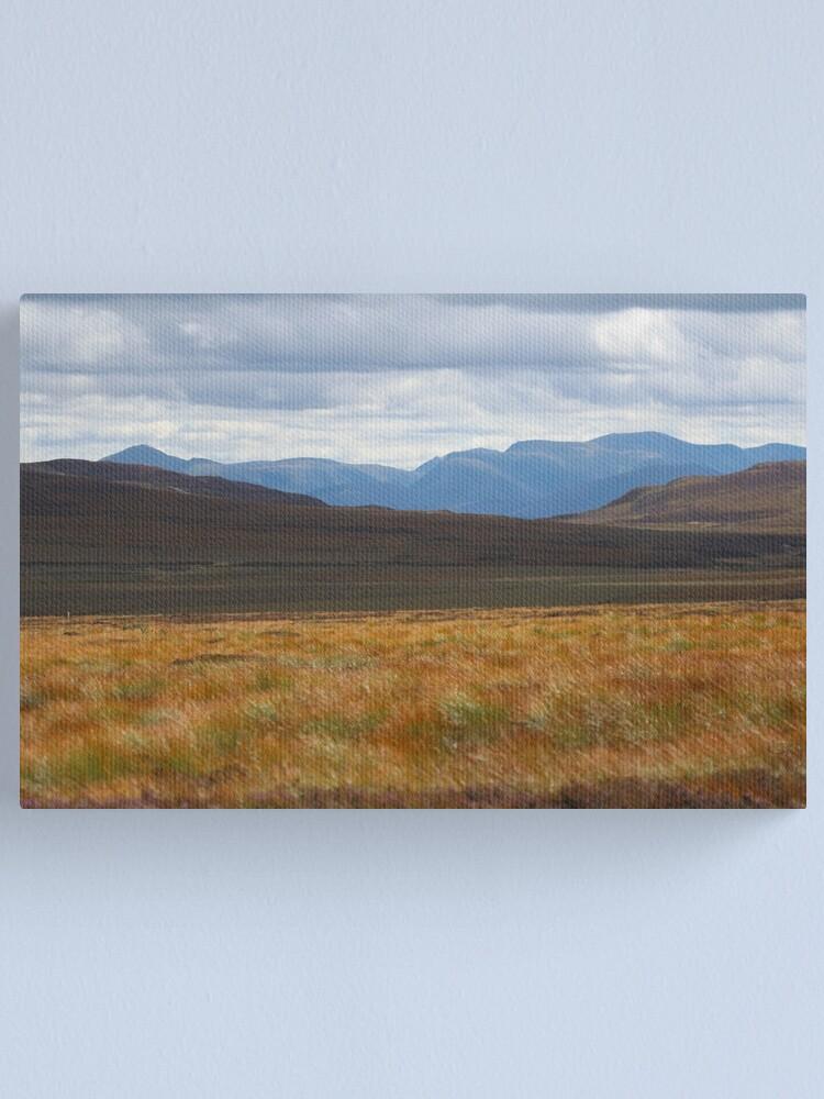 Alternate view of Cairngorm autumn Canvas Print
