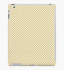 Spicy Mustard Polka Dots iPad Case/Skin