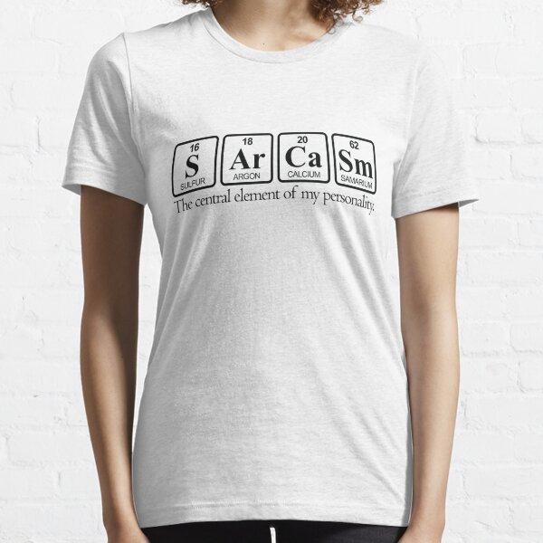 Sarcasme T-shirt essentiel
