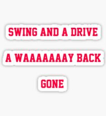 Swing and a Drive Sticker
