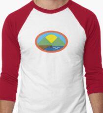 Camp Everfree Simple Logo Men's Baseball ¾ T-Shirt