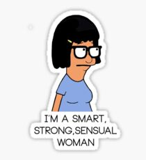 Tina Bob's Burger Sticker