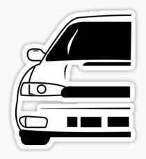 Subaru Legacy Second Generation Sticker