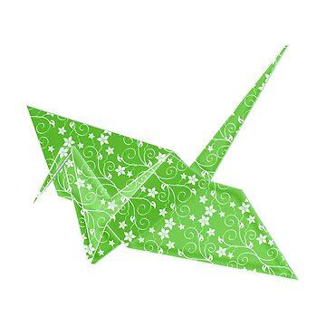 origami crane by imfine