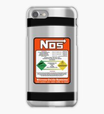 NOS Steel Case iPhone Case/Skin