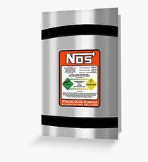 NOS Steel Case Greeting Card