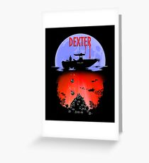 Dexter - Into the Bloody Depths Variant Greeting Card