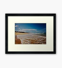 Marcus Beach - Queensland - Australia Framed Print