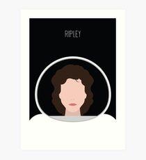 Alien Minimalist Series - Ripley Art Print