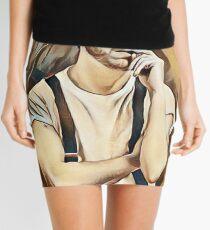 Andrew Scott Painting Mini Skirt