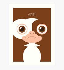 Gremlins Minimalist Series - Gizmo Art Print