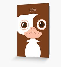 Gremlins Minimalist Series - Gizmo Greeting Card