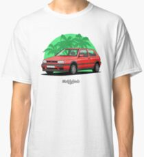 Volkswagen Golf 3 GTi (red) Classic T-Shirt