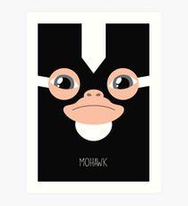 Gremlins Minimalist Series - Mohawk Art Print
