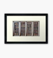 Beauty Of the Binding Framed Print