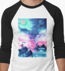 Neverland Sky Baseball ¾ Sleeve T-Shirt