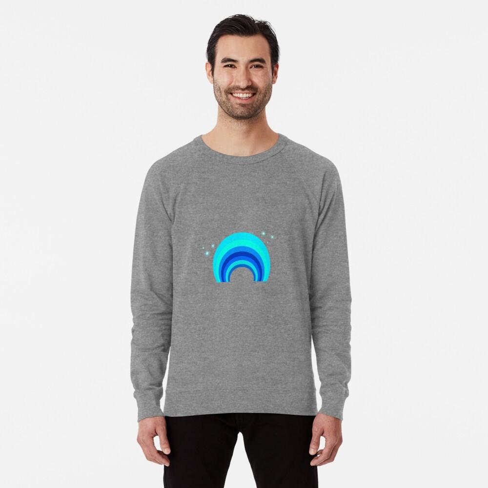 Blue Rainbow Leichter Pullover