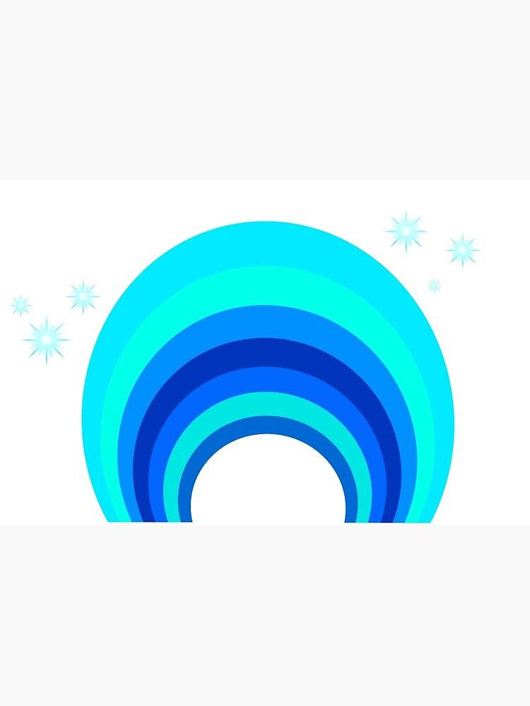 Blue Rainbow von mandalahaze