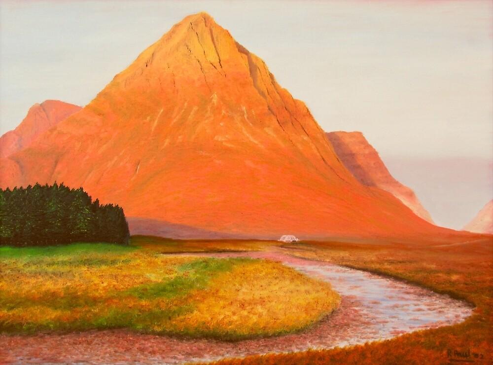 The Buachaille At Dawn by Richard Paul