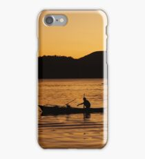 Tranquil Coron Philippines Fisherman iPhone Case/Skin
