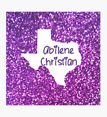 Abilene Christian University Photographic Print