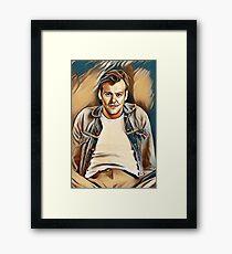 Rupert Painting Framed Print