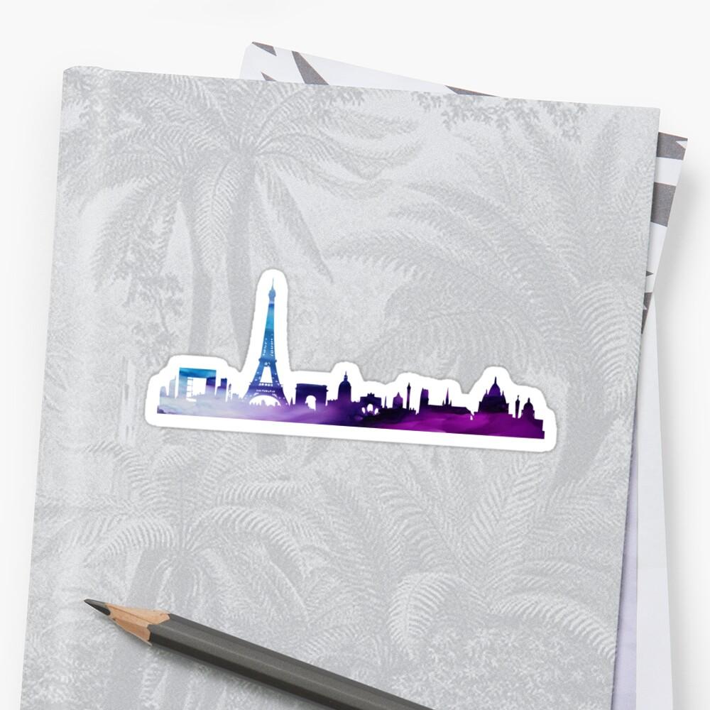Paris Skyline by Coffee &  Speech