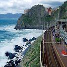 Cinque Terre by train by Arie Koene