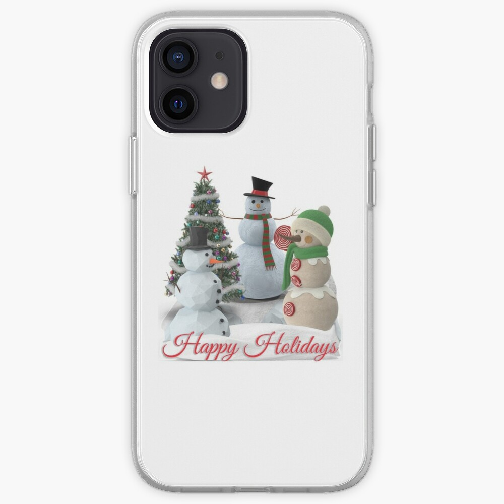 SnowPals Happy Holidays iPhone Case & Cover