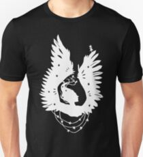 Black-Winged Angels (in white) T-Shirt