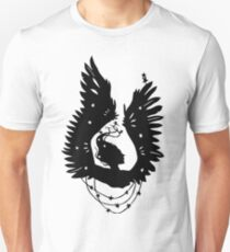 Black-Winged Angels (in black) T-Shirt