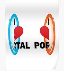 I love Portal! Poster